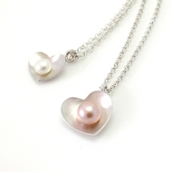 Pearl Heart Jewellery